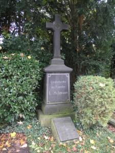 Familiengrab Schwann Melatenfriedhof