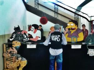 Kunst MCG Neuss 2013 Poms Bar