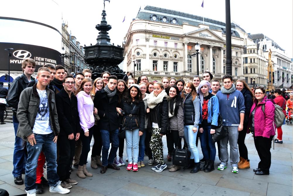 Studienfahrt London 2013 MCG Neuss