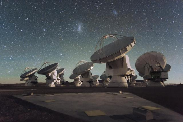 Astrophysik Chile Atacama ALMA