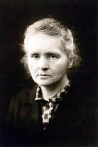 Marie Curie 1920
