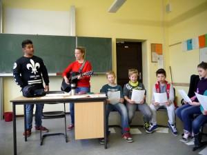 Singen Englisch MCG Neuss 5.Klasse