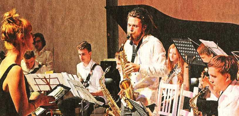 MCG Neuss Bigband Doppelkonzert Jazz 2015 Juni
