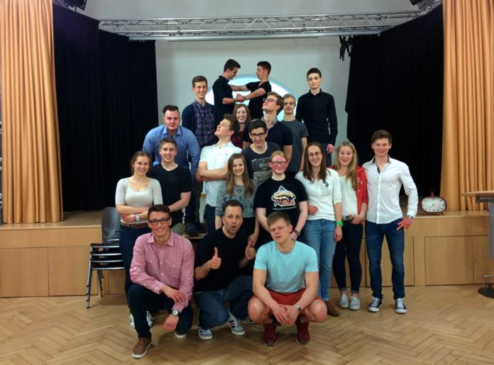 Tanzkurs MCG 2015 Abiturfeier