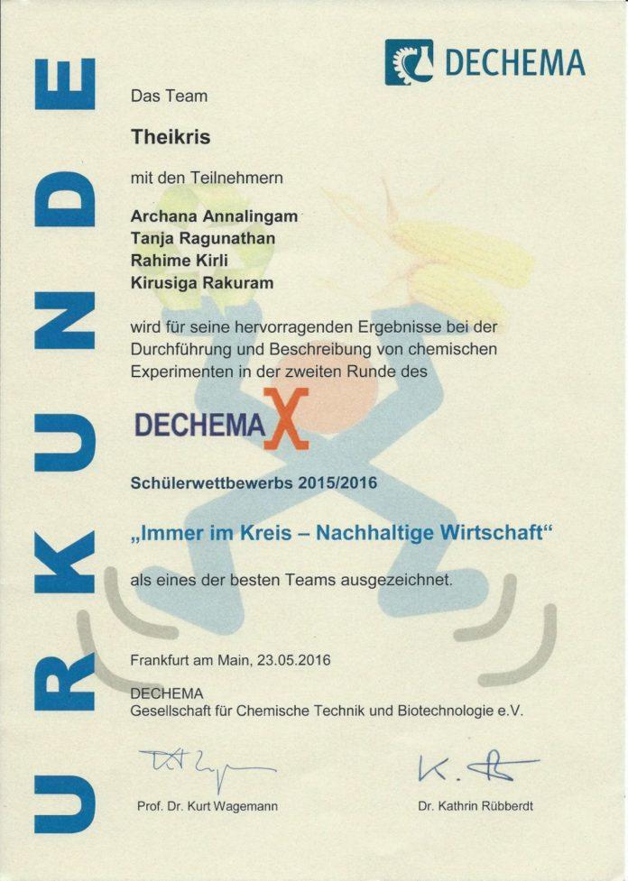 DECHEMAX MCG Wettbewerb Neuss